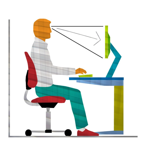 Ergonomia for Escritorio ergonomico