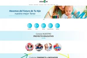 Colegio Legamar | Rediseño y responsive