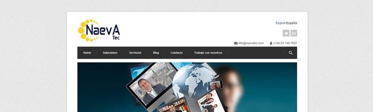 Naevatec | Web Corporativa